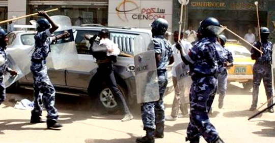 Sudan: ANHRI condemns the continued arrests of peaceful protesters