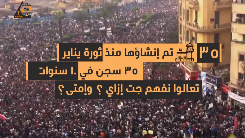في إنتظارك، 35 سجن جديد تم إنشاءها منذ ثورة يناير في مصر – مين اللي بناهم؟ وامتى ؟وفين؟ تعالوا نعرف