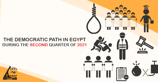 The Democratic Path in Egypt during the second Quarter of 2021